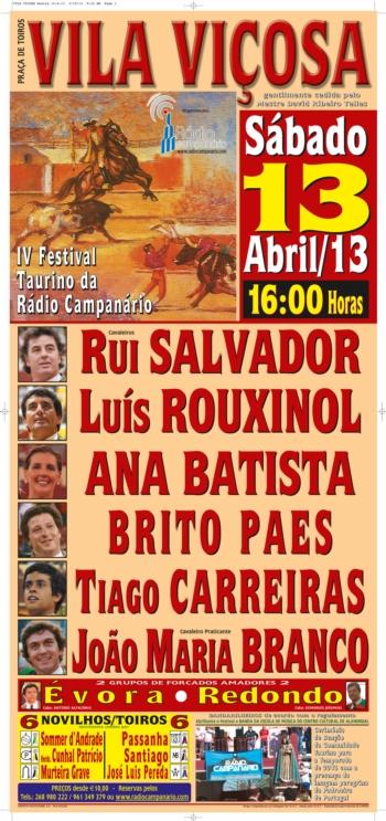 Festival Taurino da Rádio Campanário tem nova data
