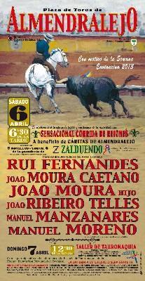 Cartel Recheado de Portugueses em Almendralejo