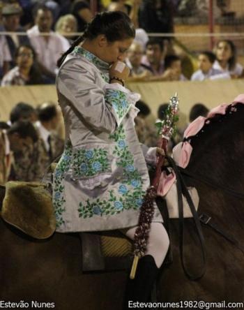 Ana Rita na Feira de Talavera de La Reina (Espanha)
