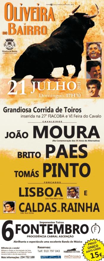 Corrida em Oliveira do Bairro dia 21 de Julho