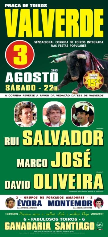 O Cartaz de 3 de Agosto em Valverde (Évora)