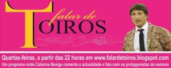 Em Falar de Toiros: Nuno Marques, a pega de Lisboa e a sua trajectória como Forcado