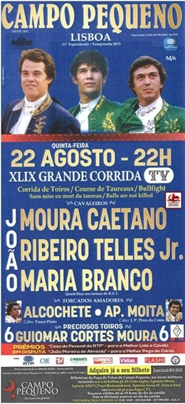 Crónica em directo do Campo Pequeno-XLIX  grande corrida TV
