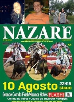 Vencedores dos primeiros bilhetes para Nazaré