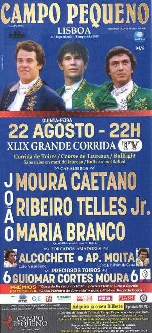 Campo Pequeno, bilhetes para a XLIX Corrida TV