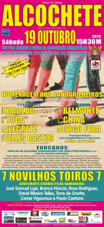 Festival dos Bandarilheiros antecipado para dia 19 de Outubro