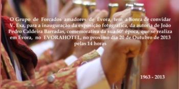 Exposição Fotográfica 50 Anos Grupo de Forcados Amadores de Évora