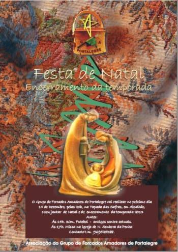 Festa de Natal e de Encerramento da Temporada dos Amadores de Portalegre