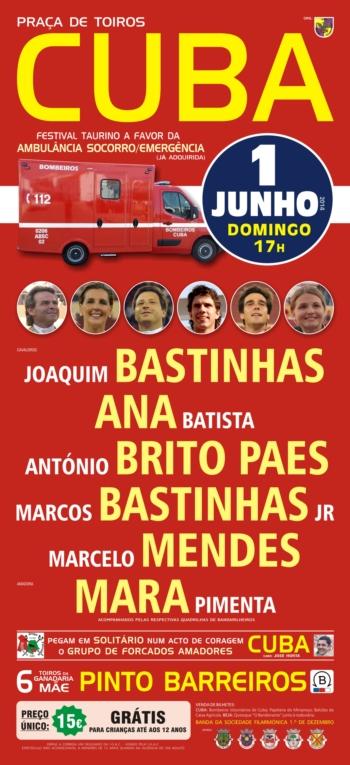 Festival Taurino em Cuba, 1 de Junho