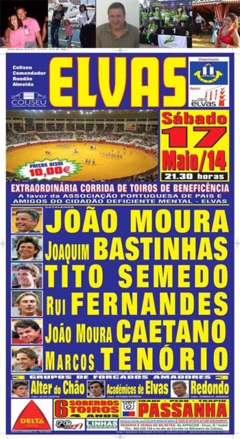 Vencedores dos Bilhetes para hoje (17.Maio) em Elvas