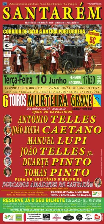 Cartaz de 10 de Junho em Santarém