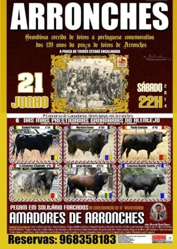 As ganadarias para Arronches - 21 de Junho
