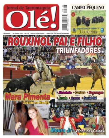 Jornal Olé 324 - Amanhã nas bancas (5ª feira - 26 Junho 2014)