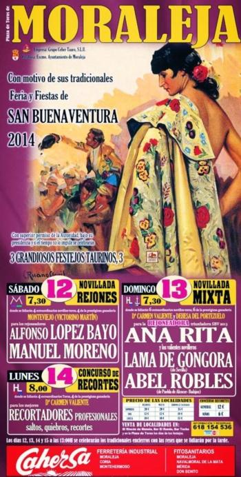 Ana Rita em Moraleja (Espanha)