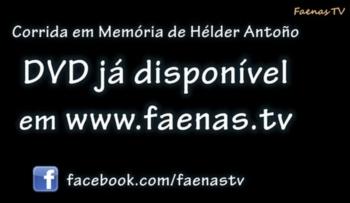 DVD da corrida Hélder Antõno na praça de toiros de Alcochete
