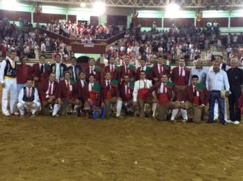 Toureiros e Forcados Portugueses, em S.Vicent de Tyrosse