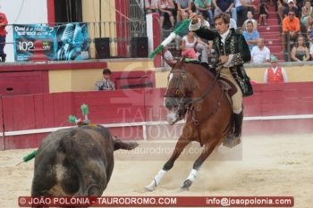 Francisco Palha e ganadaria Passanha em Valladolid