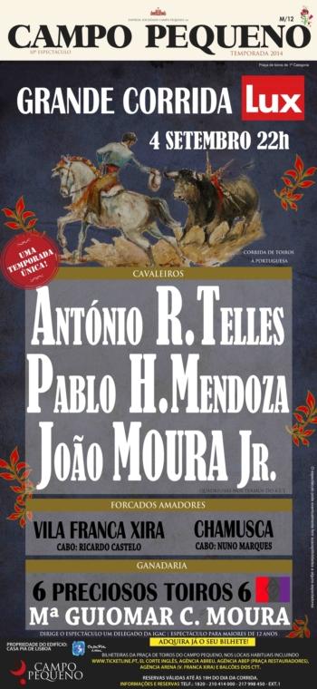 Pablo Hermoso de Mendoza regressa ao Campo Pequeno