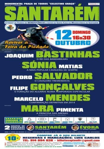 Cartaz de 12 de Outubro em Santarém