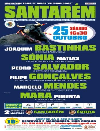 Cartaz de 25 de Outubro em Santarém