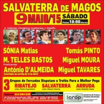O cartaz de Salvaterra dia 9 de Maio