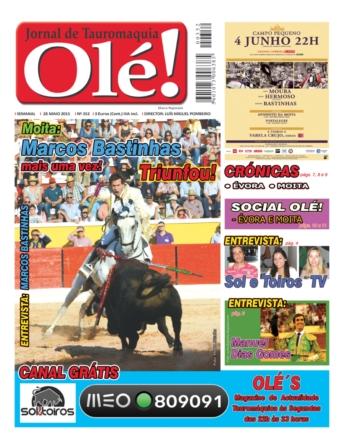 A capa do Olé nº 352 - Hoje nas bancas!