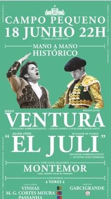 Video Promocional mano-a-mano Ventura - El Juli