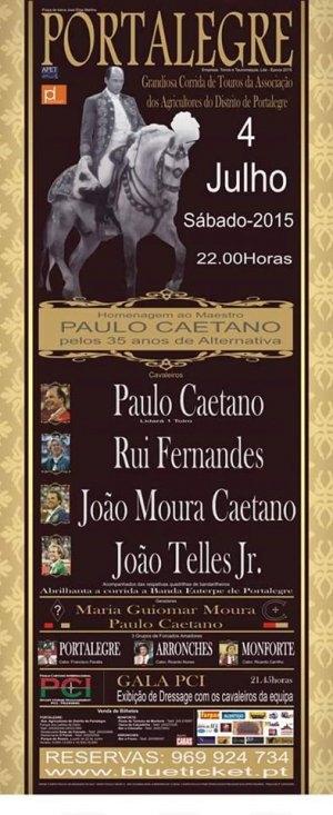 Corrida dos 35 anos de alternativa de Paulo Caetano