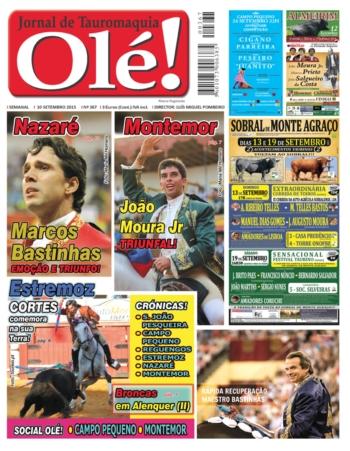 Jornal Olé nº367, já nas bancas