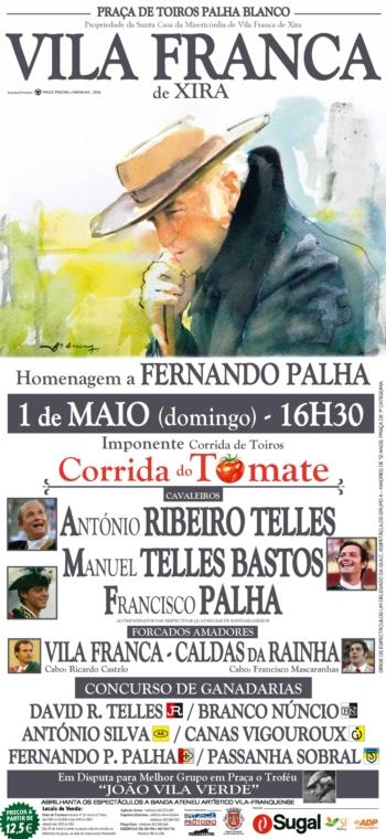 Corrida de Homenagem a Fernando Palha/Corrida do Tomate, PALHA BLANCO 1 de Maio