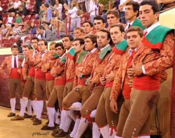 Amadores de São Manços treinam na ganadaria Charrua