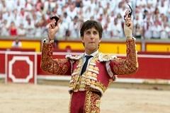 André Roca Rei triunfador esta tarde em Pamplona