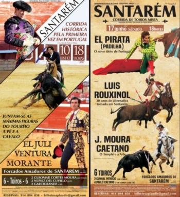 Feira Taurina de Santarém com bilhetes à venda