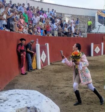 Ana Rita triunfa em El Tiemblo