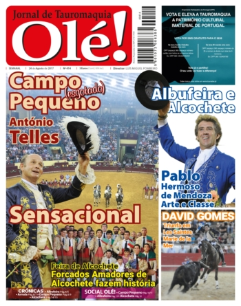 Jornal Olé! 414, hoje nas bancas