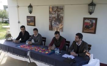 Vitor Ribeiro em conferência de imprensa sobre o seu regresso