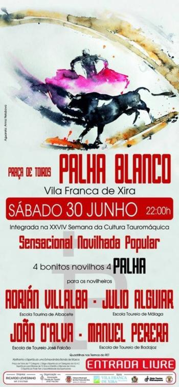 Escola de toureio José Falcão com mês de junho preenchido